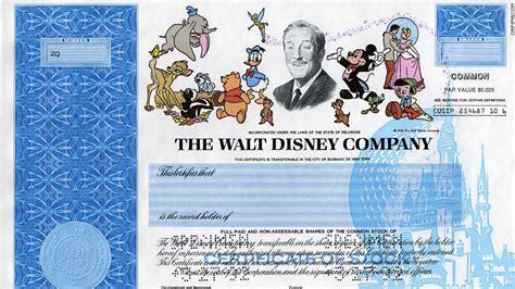 Dis Stock Certificate