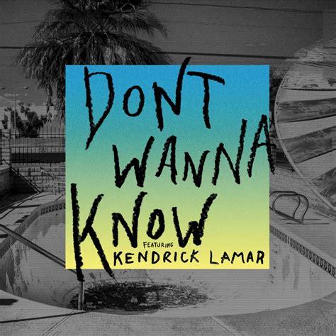 Don't Wanna Know Maroon 5