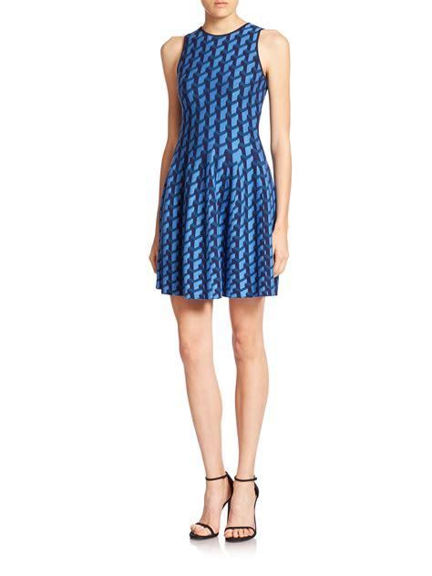 Galerry parker whitfield flared halter dress