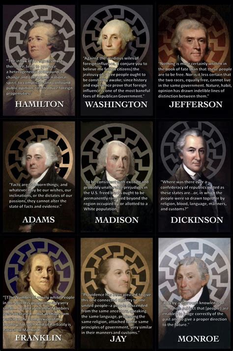 Founding Fathers White Nationalists