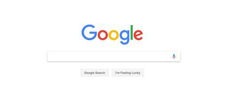 Google Search Engine Homepage