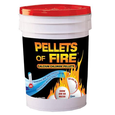 Ice Melt Pellets of Fire