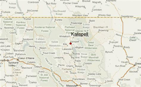 Kalispell Montana Map
