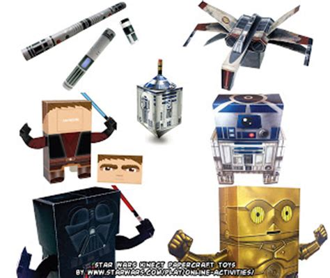 Kinect Star Wars Papercraft