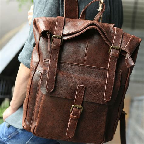 Leather Backpacks for Men