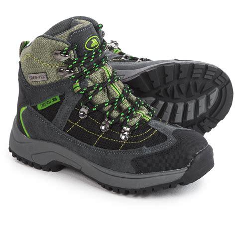 Little Boy Hiking Boots