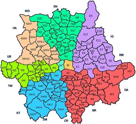 London Postcode UK