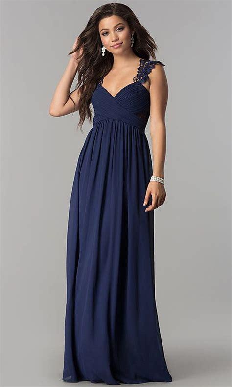 Long Empire Waist Dresses