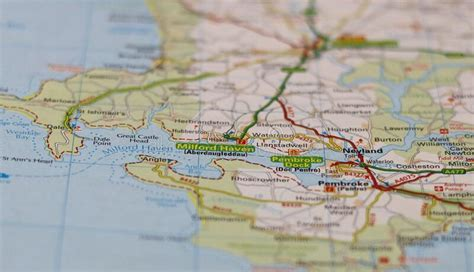 Map Milford Haven