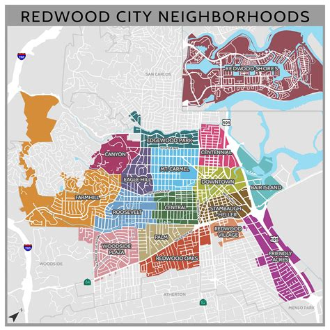 Map Redwood City