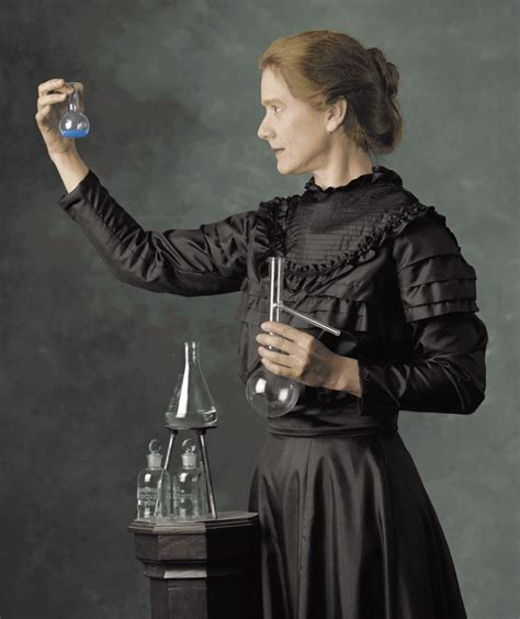 Marie Curie Pictures in Color