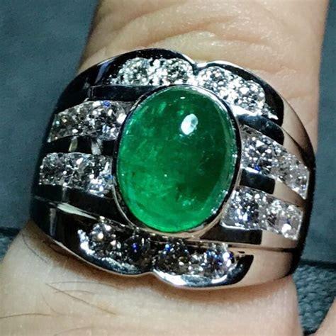 Men's Emerald Rings On eBay