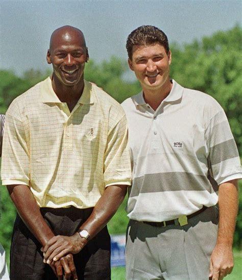 Michael Jordan and Mario Lemieux