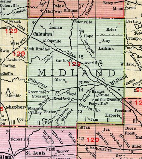 Midland County Michigan