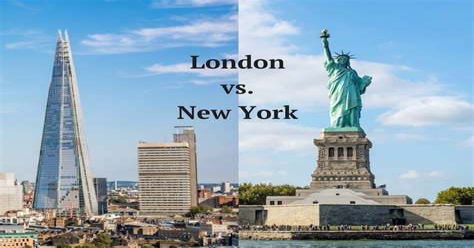 New York London