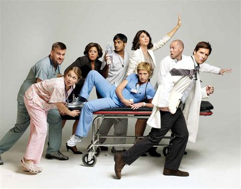 Nurse Jackie Cast