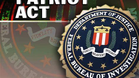 Patriot Act 2011