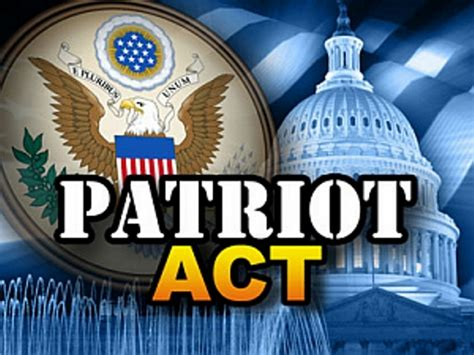 Patriot Act of 2001