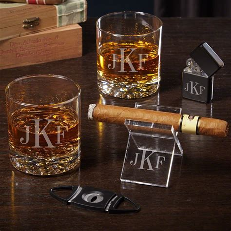 Personalized Cigar Sets