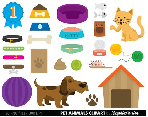 Pet Supplies Clip Art