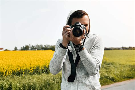 Photographer Taking
