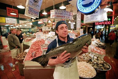 Pike Place Market Fishmongers