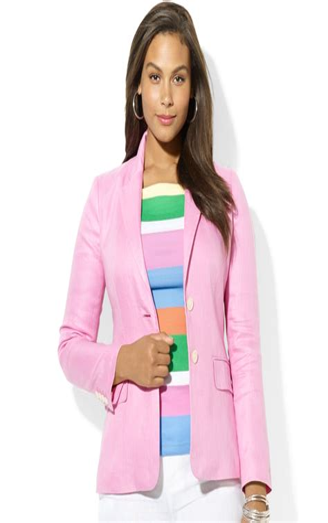 Plus Size Pink Blazer