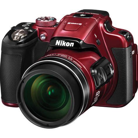 Red Nikon Coolpix Camera