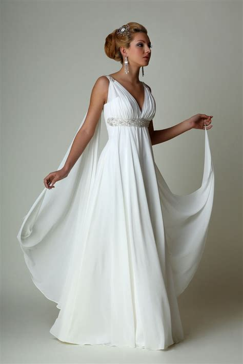 Roman Goddess Wedding Dress