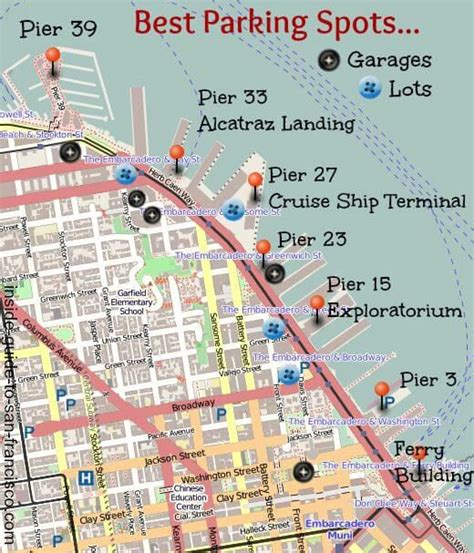 San Francisco Embarcadero Map