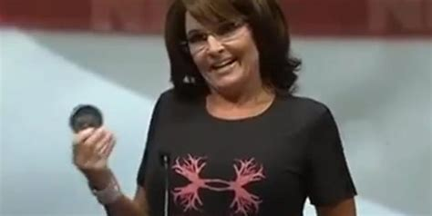 Sarah Palin Chewing Tobacco