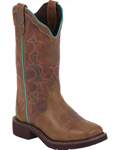 Square Toe Gypsy Boots for Men
