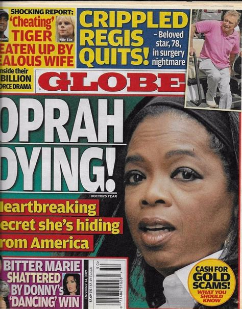 Tabloid Magazine Covers