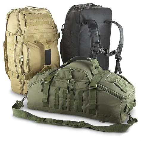 Tactical Packs and Bags