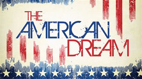 The American Dream Today