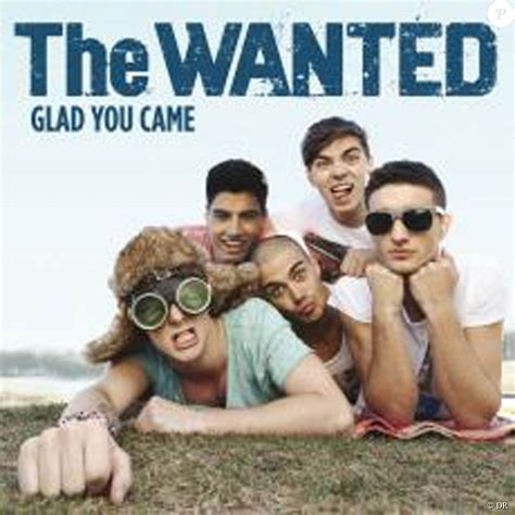 The Wanted Glad You Came Album Cover