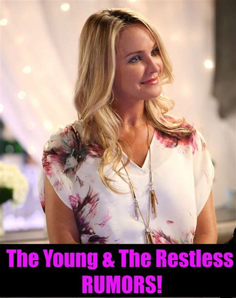 The Young and Restless Rumors