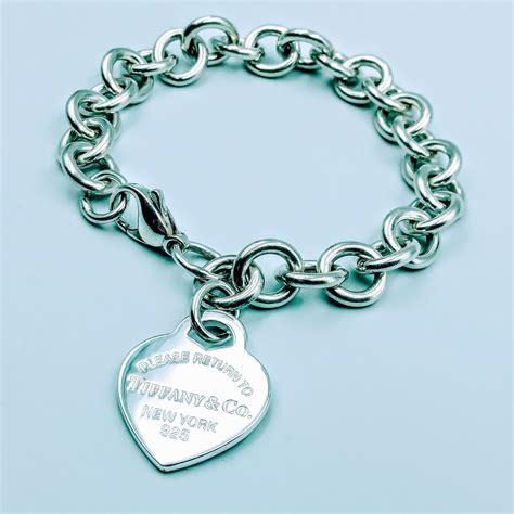 Tiffany Silver Charm Bracelet
