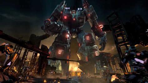 Transformers Fall of Cybertron Trailer