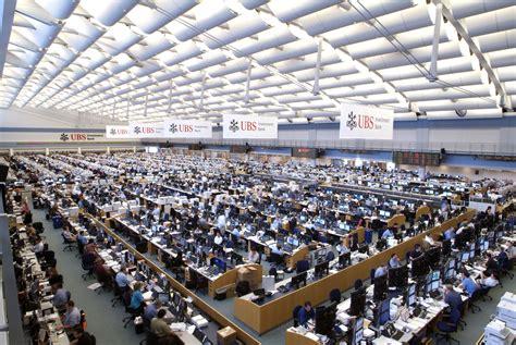 UBS Stamford Trading Floor