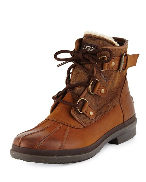 UGG Lace Up Boots for Women