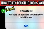 Unable to Complete Touch ID Setup iPhone 6