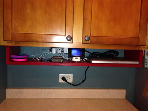 Under Cabinet Charging Station Phone