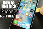 Unlock iPhone SE with Code Steps