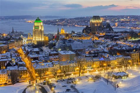 Winter Quebec City