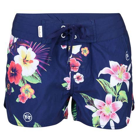 Women's Navy Board Shorts