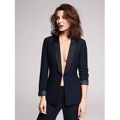 Women's Navy Pant Suits