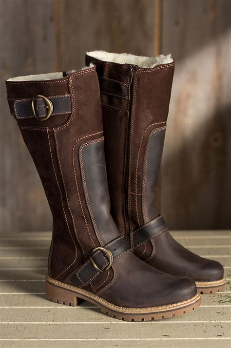 Womens Leather Boots