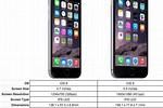 iPhone 6s Plus vs 6 Plus Specs