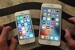 iPhone 8 vs 5s Size
